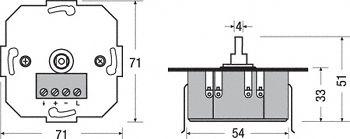 DIM MCU 230V IP20