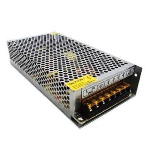 Fonte led Chaveada 12V 15A 180W LED 12V DC Fonte de alimentação própria para ser utilizada em: LEDs, Câmeras, Micro Câmeras, Transmissores e Receptores,