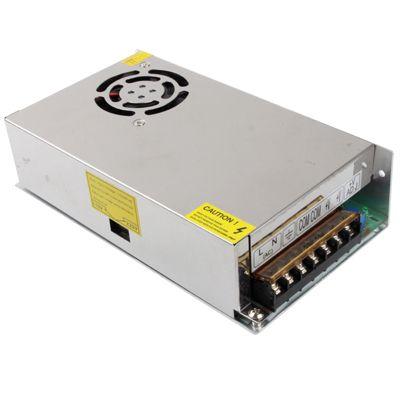 Fonte led Chaveada 12V 20A 240W LED 12V DC Fonte de alimentação própria para ser utilizada em: LEDs, Câmeras, Micro Câmeras, Transmissores e Receptores,