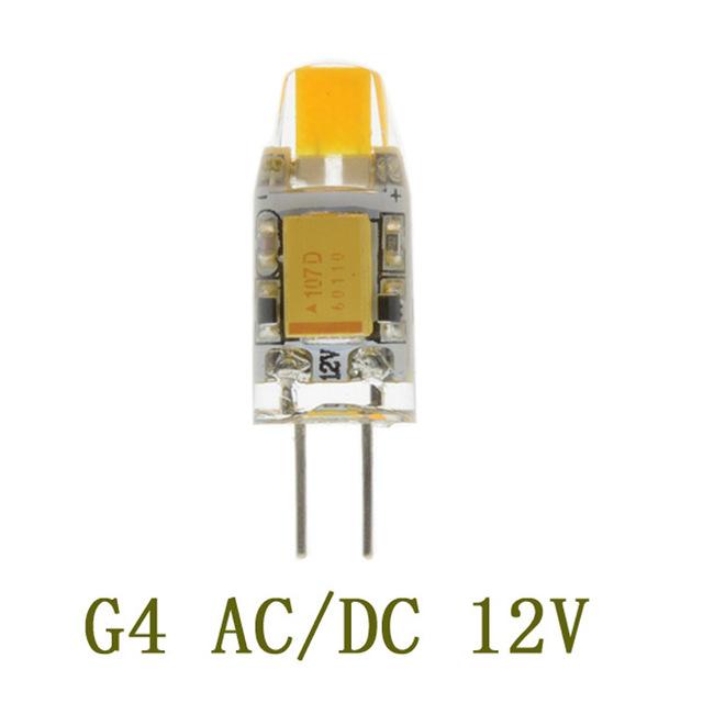 LÂMPADA LED 3W 12V AC/DC G4 COR BRANCO QUENTE