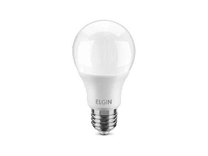 Lâmpada Bulbo 12W LED A60 Bivolt 6500K Elgin