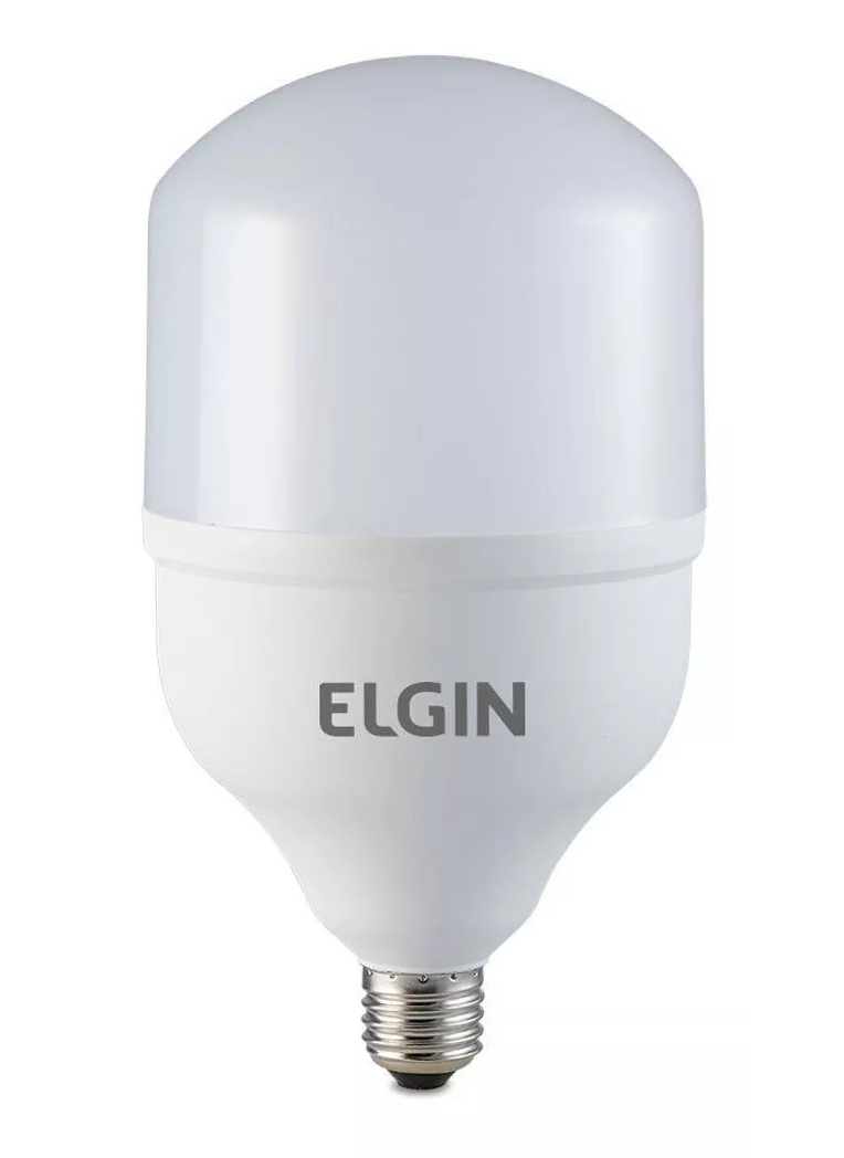 Lâmpada Bulbo 50W LED Super Bulbo LED 6500K Elgin