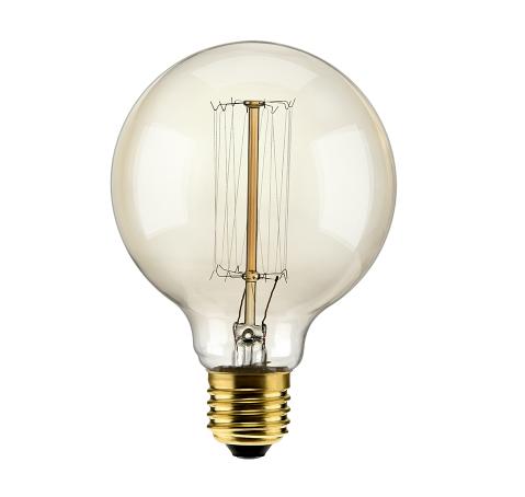 Lâmpada Filamento de Carbono G95