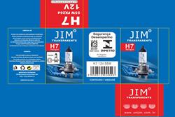 LÂMPADA H7 12V 55W JIM