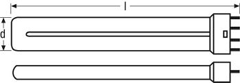Lâmpada STUDIOLINE 55W 3200K 2G11