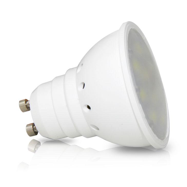 Lâmpada LED GU10 3W Verde
