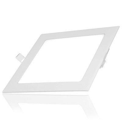 Luminária Plafon 12w LED Embutir Branco Quente