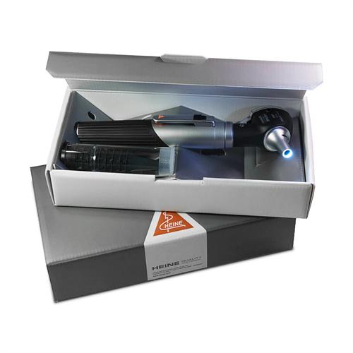 Otoscópio LED MINI 3000 Fibra Óptica Preto HEINE D-008.70.110