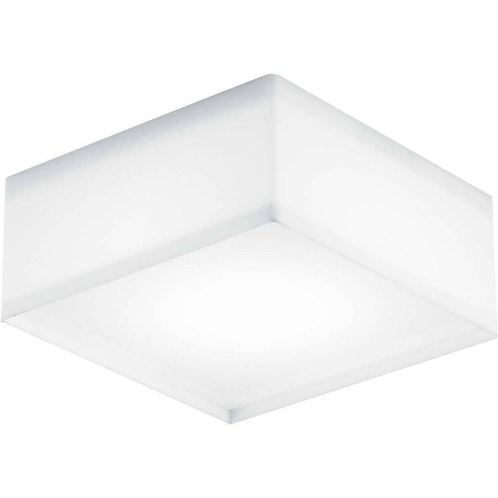 Plafon White Led Acrílico quadrado 10W 127V 6400K