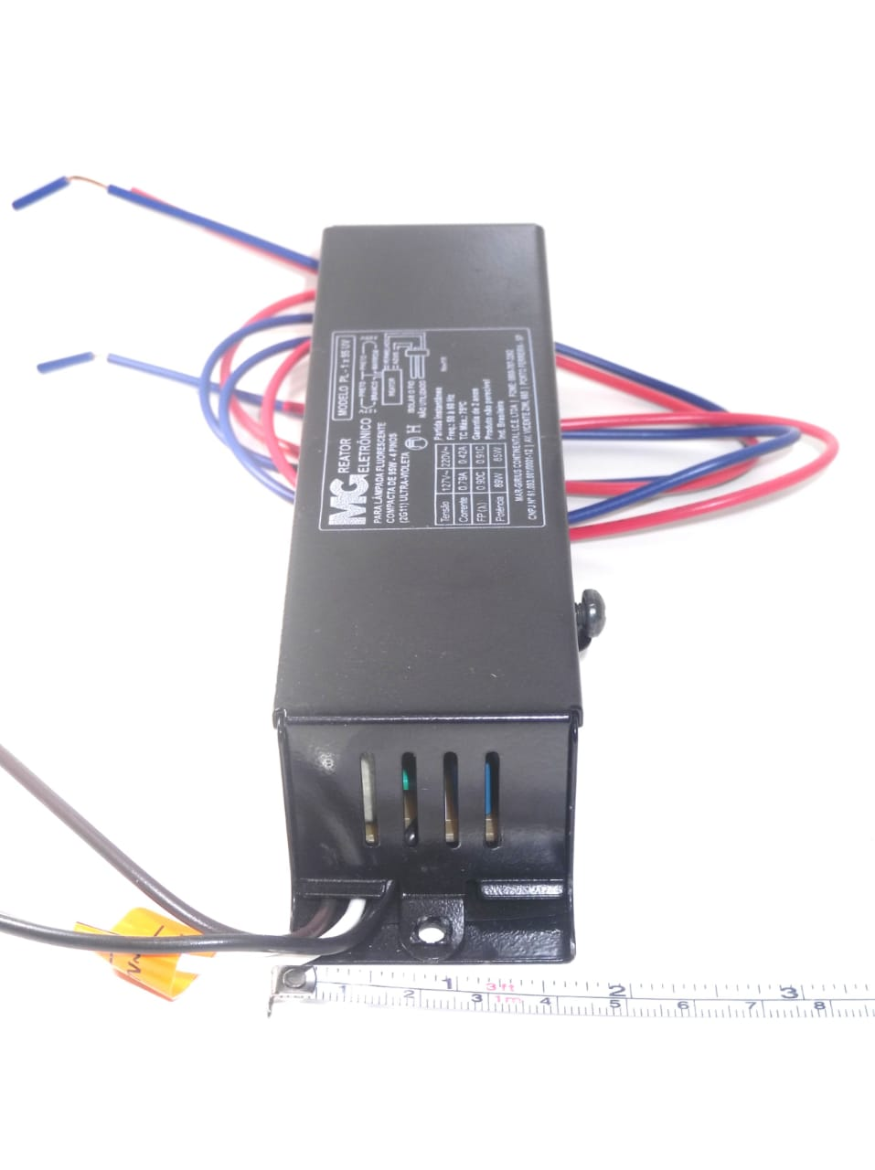 Reator p/ Lâmpada Germicida 55W/60W, Reator 1x55/60W