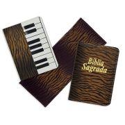 Kit de Capa de Hinário de Musica + Bíblia + Ajoelhador