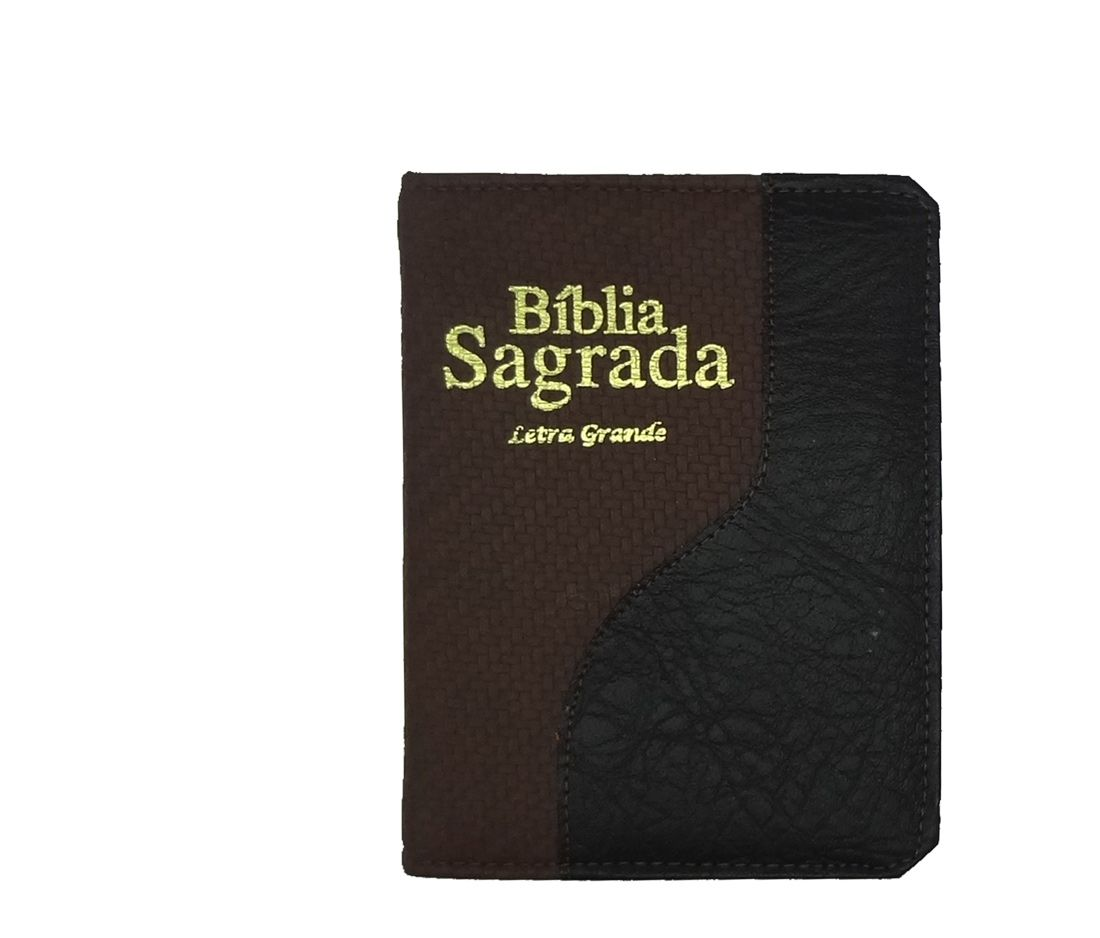 Biblia CCB Letra Grande Luxo - Media