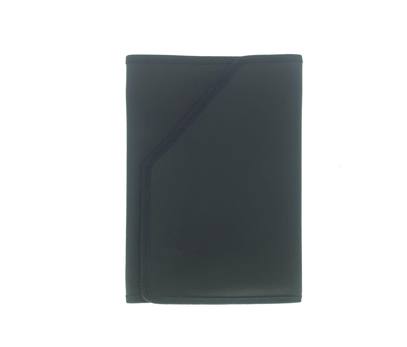 Conjunto Capinha Tecido RGR Hinario e Biblia Azul Marinho