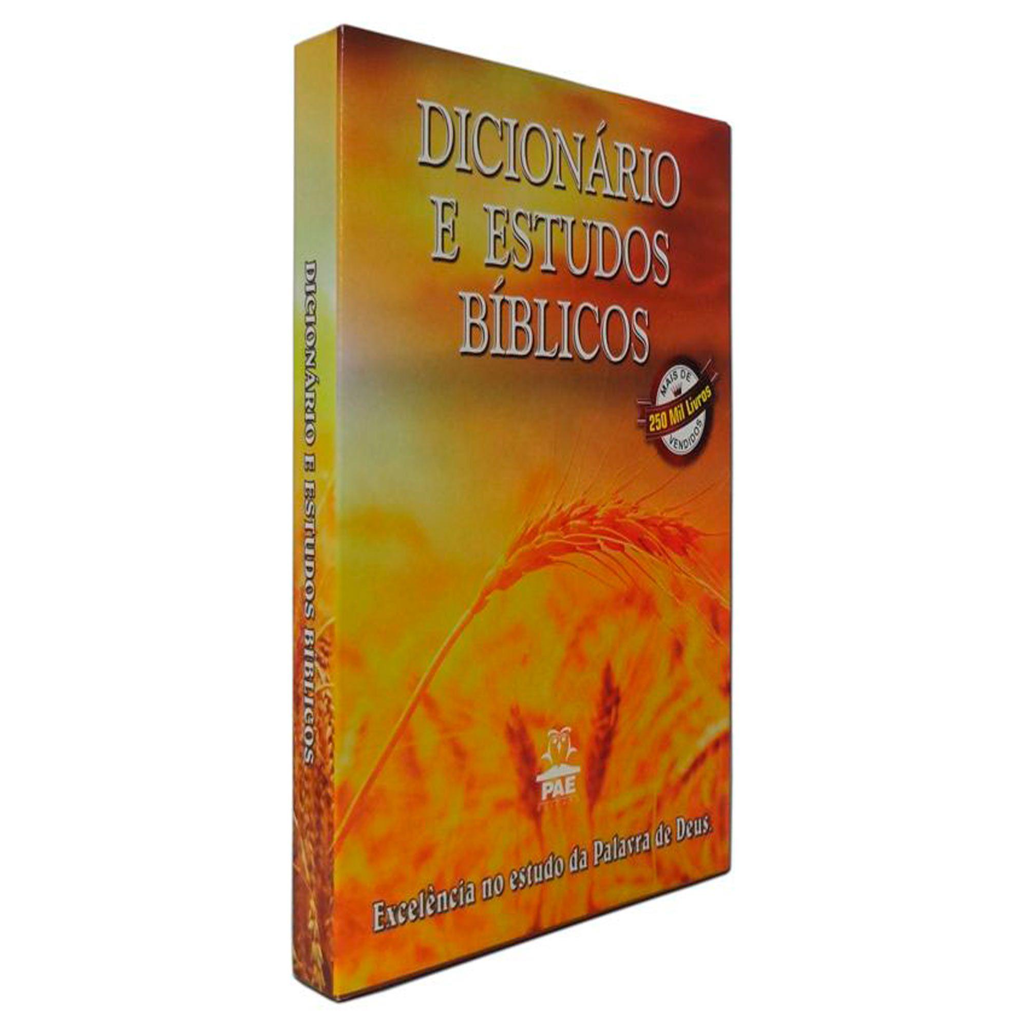 Dicionário Bíblico CCB Estudo Biblicos
