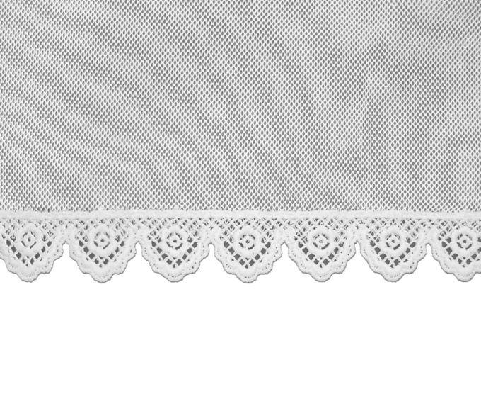 Véu CCB de Algodão Renda de Guipure Infantil 02 Anos 14302