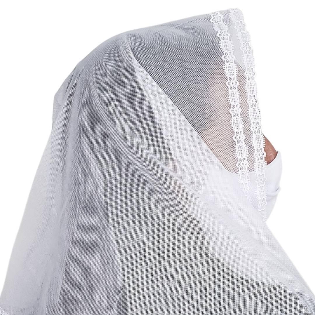 Véu CCB Tecido de Algodão Renda MH-2727 2