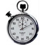 Cronômetro Tradicional de Altíssima Qualidade de 2 Coroas - 122.0101-00 - Hanhart