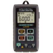 REGISTRADOR DIGITAL PORTÁTIL COM ANALISE DE QUALIDADE DE ENERGIA CAT III 300V - 5020 - KYORITSU