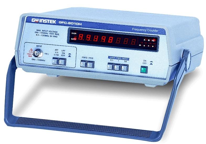 CONTADOR DE FREQUÊNCIAS DIGITAL 120MHz- GFC-8010H - GW INSTEK  - HOMIS.COM.BR