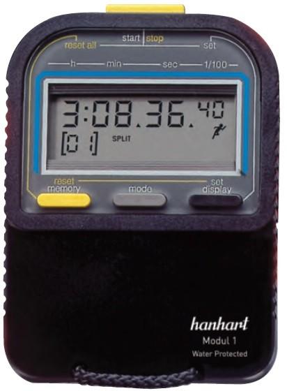Cronômetro Digital de Altíssima Qualidade 260.1760-00 - MODUL 1 - HANHART STOPWATCH