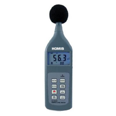 DECIBELÍMETRO DIGITAL - CURVA A/C/FLAT - CLASSE 2 Leq 30 A 130 dB RS-232 - HDE-896 - HOMIS  - HOMIS.COM.BR