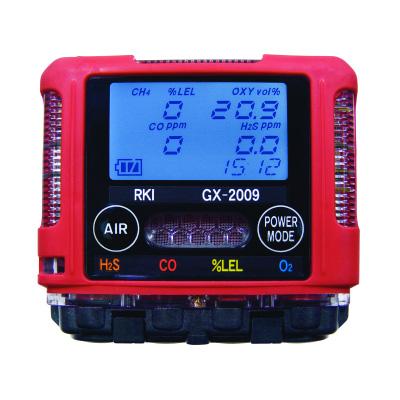 DETECTOR PORTÁTIL 4 GASES HC O2 H2S CO - 2009 - HOMIS  - HOMIS.COM.BR