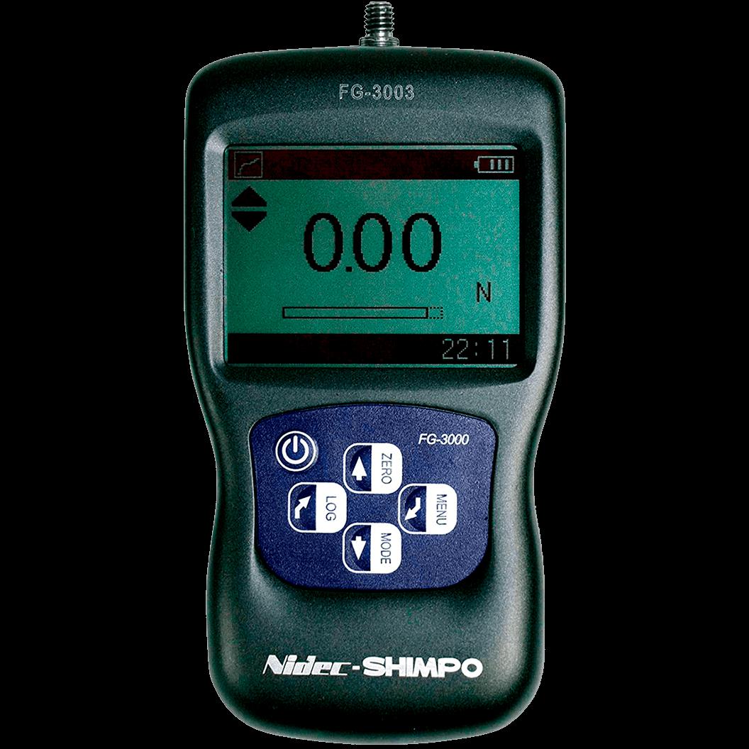 DINAMÔMETRO DE TRAÇÃO E COMPRESSÃO DIGITAL DE ALTISSIMA QUALIDADE 1kg - FG-3003 - H330-214 - SHIMPO  - HOMIS.COM.BR