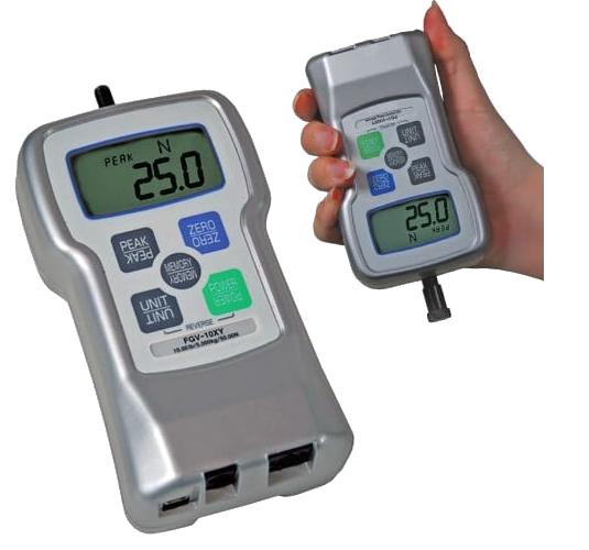 DINAMÔMETRO DE TRAÇÃO E COMPRESSÃO DIGITAL DE ALTISSIMA QUALIDADE 50kg - FGV-100XY - H330-021 - SHIMPO  - HOMIS.COM.BR