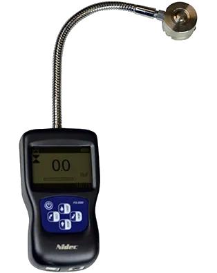 DINAMÔMETRO DIGITAL COM SENSOR DE CELULA DE CARGA EXTERNA EM FORMATO DE DISCO 100kg - FG-3000R-1 - H330-359 - SHIMPO  - HOMIS.COM.BR