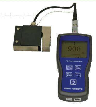 DINAMÔMETRO DIGITAL DE TRAÇÃO E COMPRESSÃO DE ALTISSIMA QUALIDADE 100kg - FG-7000L-S-1 - H330-231 - SHIMPO  - HOMIS.COM.BR