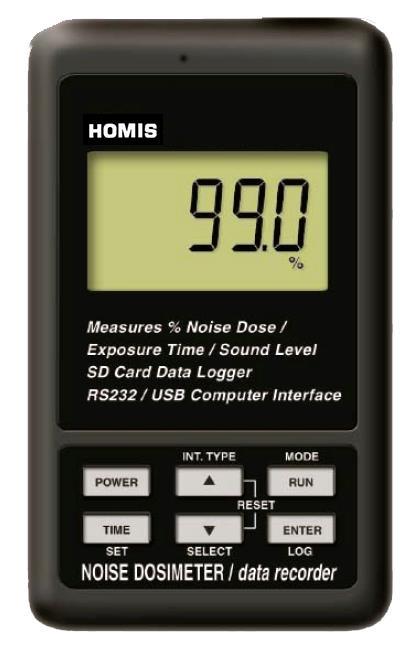 DOSÍMETRO DIGITAL PORTÁTIL CLASSE 2 - DS-1320 - HOMIS  - HOMIS.COM.BR