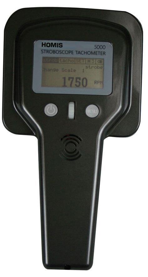 ESTROBOSCÓPIO TACÔMETRO DIGITAL PORTÁTIL -5000 - HOMIS  - HOMIS.COM.BR