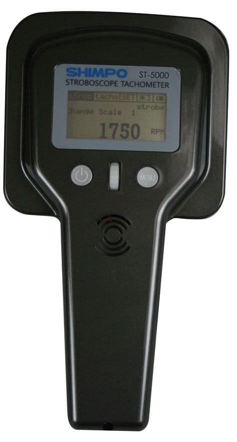 ESTROBOSCÓPIO TACÔMETRO DIGITAL PORTÁTIL - HST-5000 - SHIMPO