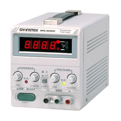 FONTE DE ALIMENTAÇÃO 30V 3A 90W - GPS-3030D - GW INSTEK  - HOMIS.COM.BR