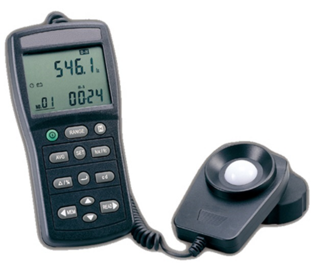 LUXÍMETRO DIGITAL - 999.9900 LUX INTEGRAL MÉDIA CLASSE II RS-232 - HLU-259 - HOMIS  - HOMIS.COM.BR
