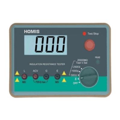 MEGÔHMETRO DIGITAL - HME-30 - HOMIS  - HOMIS.COM.BR