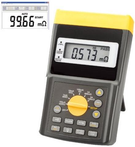 MICROHMÍMETRO - CORRENTE DE TESTE DE 10A RS-232 USB - HMI-272 - HOMIS  - HOMIS.COM.BR
