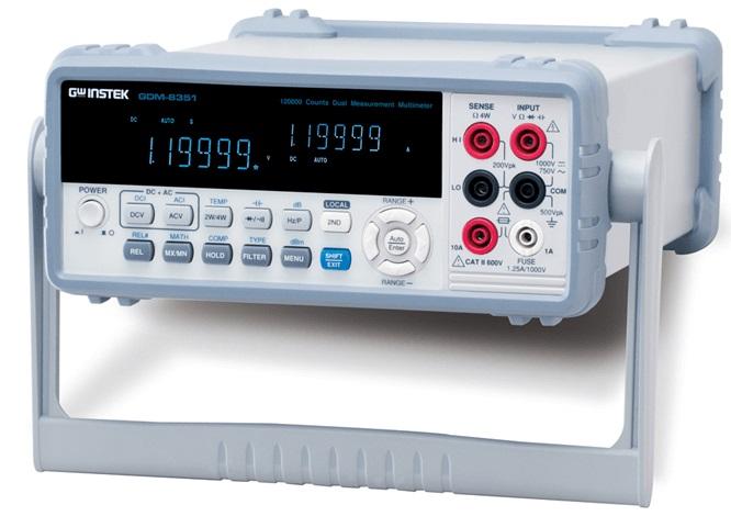 MULTÍMETRO DIGITAL DE DOIS CANAIS - GDM-8351 - GW INSTEK  - HOMIS.COM.BR