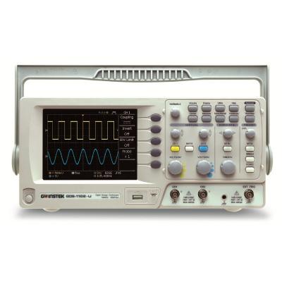 OSCILOSCÓPIO DIGITAL 70MHz 2 CANAIS - 1GSa/s E TECNOLOGIA VPO USB e SOFTWARE - GDS-1072A-U - GW INSTEK  - HOMIS.COM.BR