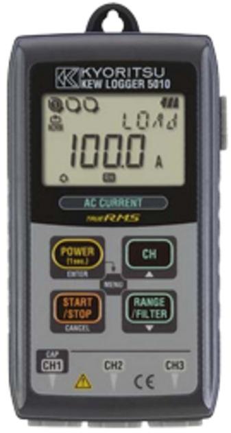 REGISTRADOR DIGITAL PORTÁTIL CAT III 300V - 5010 - KYORITSU  - HOMIS.COM.BR