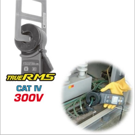 TERRÔMETRO DIGITAL TIPO ALICATE CAT IV 300V - 4200 KEW - KYORITSU  - HOMIS.COM.BR