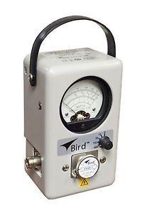 Wattímetro de RF Radio Frequência modelo 4304A BIRD   - HOMIS.COM.BR