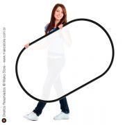 Difusor Flexível | Retangular Branco Translúcido 92 X 122cm