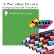 Fundo SUPERIOR EXTRA WIDE | 85 Chroma Key Green