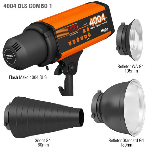 #Combo 1 - Flash Mako 4004 DLS - 220V
