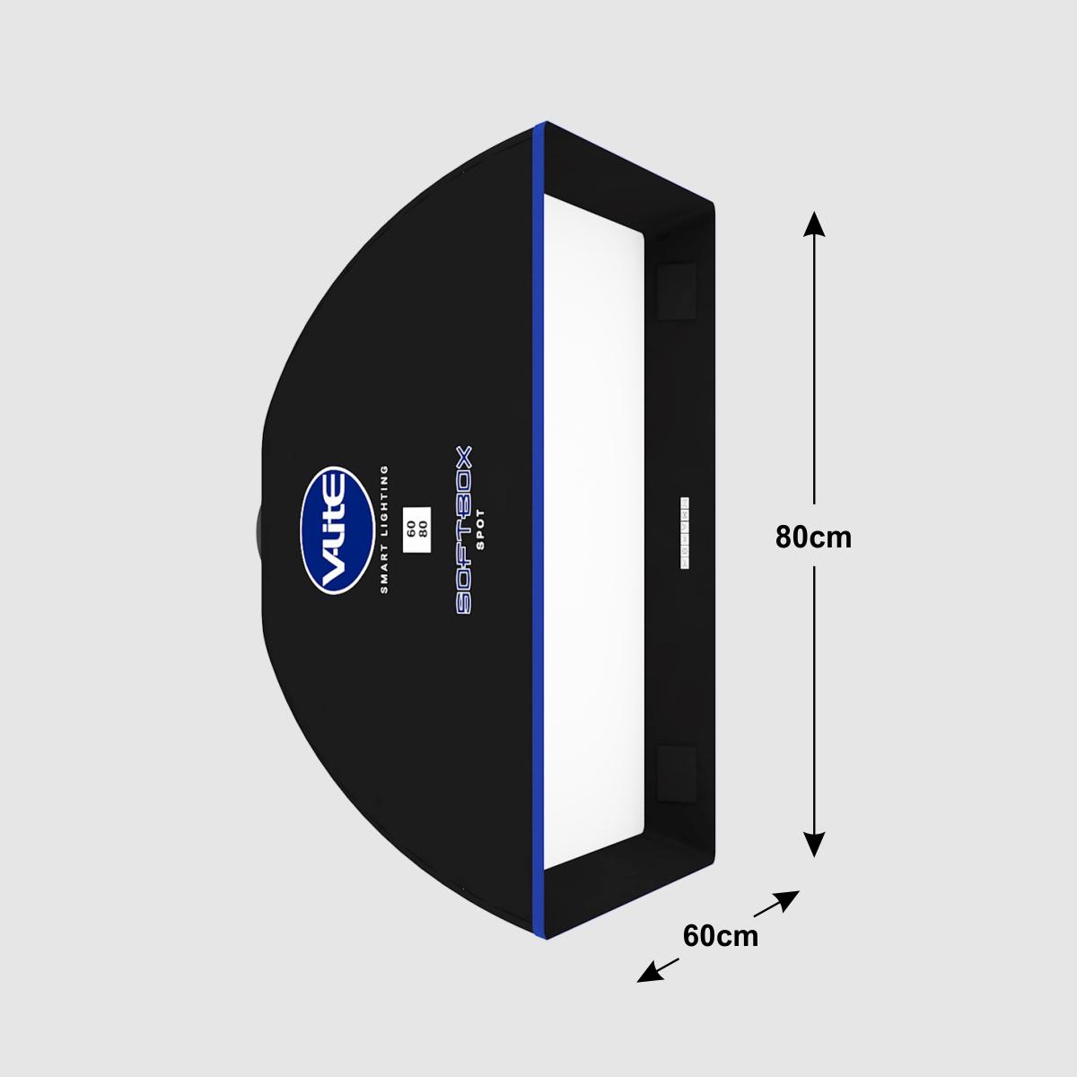 DIFUSOR DE LUZ SOFTBOX SPOT  60 X 80 V-LITE