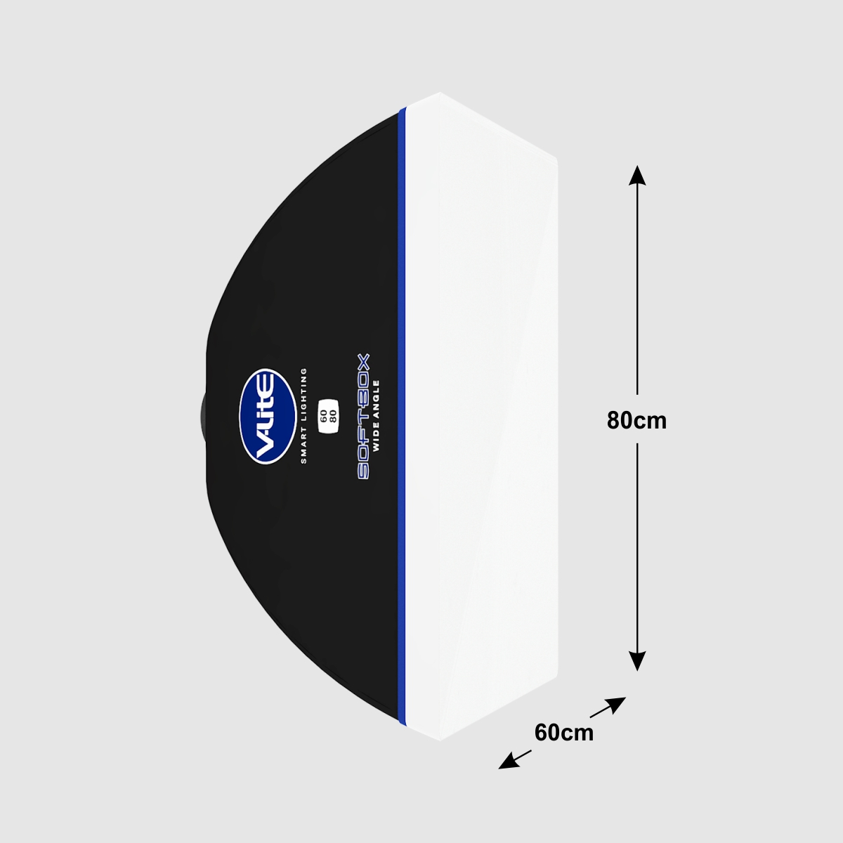DIFUSOR DE LUZ SOFTBOX WIDE ANGLE 60 X 80 V-LITE