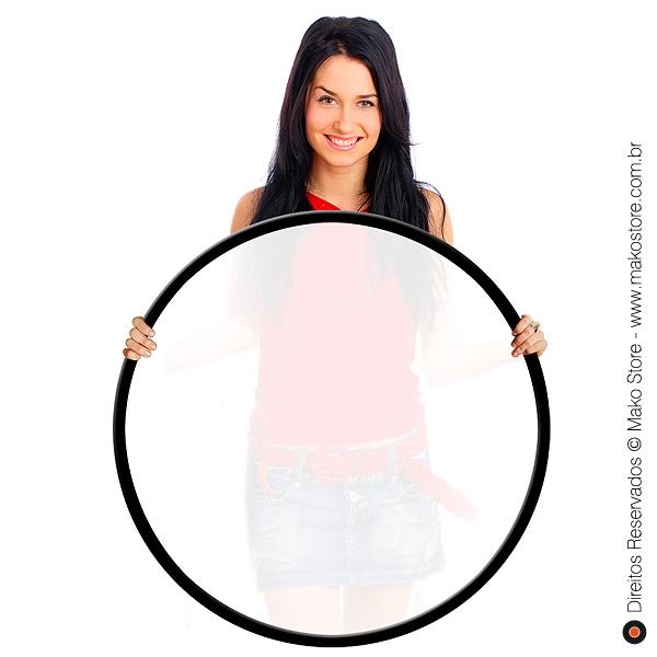 Difusor Flexível | Circular Branco Ø107cm