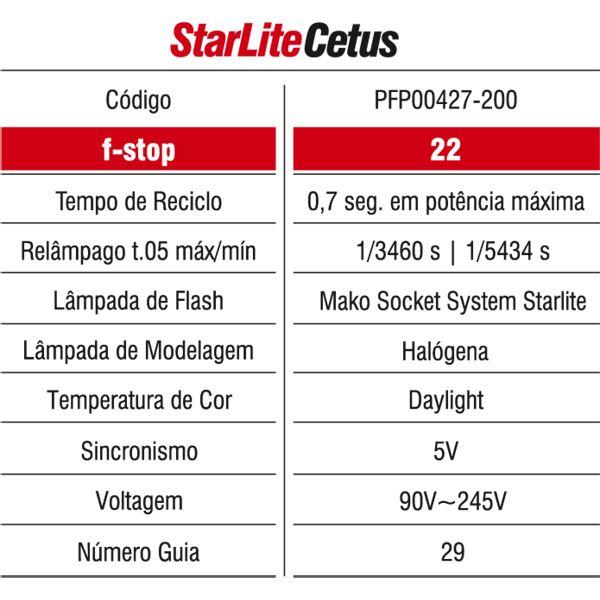 Flash Mako STARLITE Cetus 50W