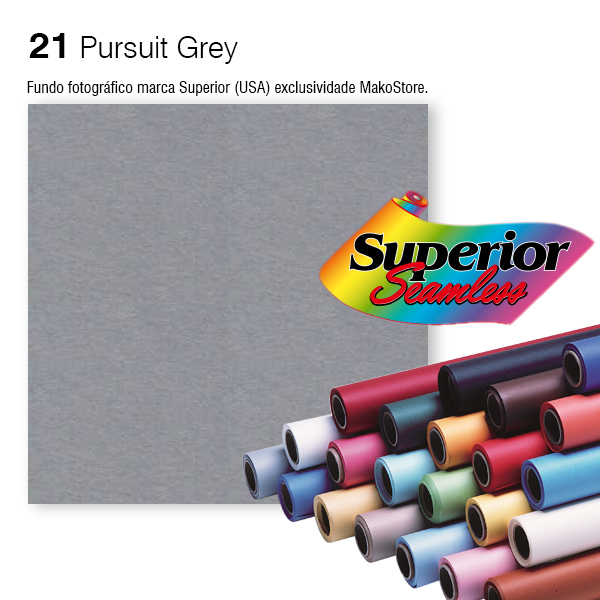 Fundo SUPERIOR | 21 Pursuit Grey
